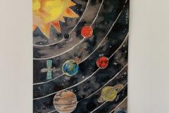 "Poster ""Weltraum + Planeten"""