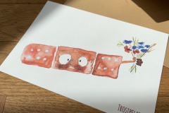 "Postkarte ""Trostpflaster"""