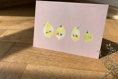 """Klappkarte """"Zitronen"""""""